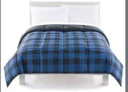 WHOA! Down Alternative Reversible Comforter ONLY $15.97 !  $79.99 – $99.99 )