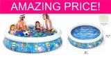 BEST PRICE! HUGE Inflatable Kiddie Pool!