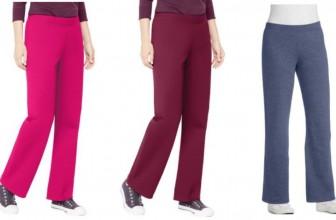 Hanes Women's Fleece Sweatpants (5 Colors) ONLY $3.00 BUCKS!