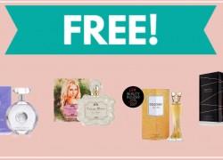 TWO FREE Women's or Men's Perfume Samples
