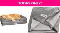 PetFusion Dog Beds & Blanket Deals