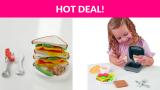 Play-Doh Kitchen Cheesy Sandwich Play Food Set