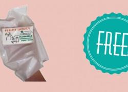 Get a FREE Flushable Dog Waste Bag Sample!