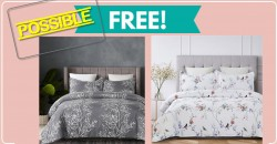 Possible FREE Sheets, Comforters, Duvets & More  !