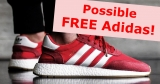 Possible FREE Adidas Sneakers!