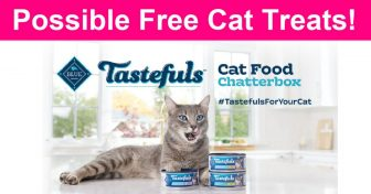Possible FREE Blue Buffalo Tastefuls™ Cat Food !