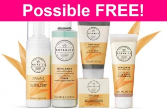 Possible FREE BOTANICS Products!