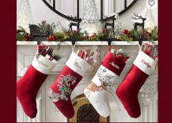 HOTTEST DEAL of The Day! Pottery Barn Stockings $7.00 SHIPPED!
