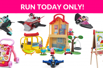 Today Only! Deals on Jazwares, VTech, Spin Master and More