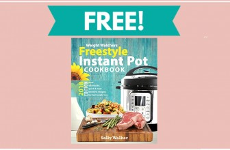 Totally FREE Weight Watchers Instant Pot COOKBOOK!