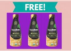 FREE GoodBelly Probiotics Infused Beverage