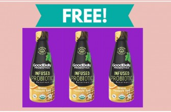 FREE GoodBelly Probiotics Infused Beverage