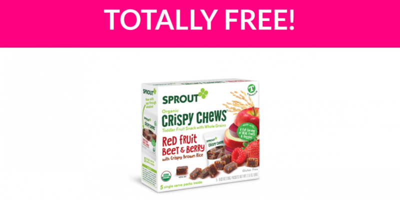 Totally Free Sprout Crispy Chews