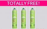Free Garnier Fructis Dry Shampoo!