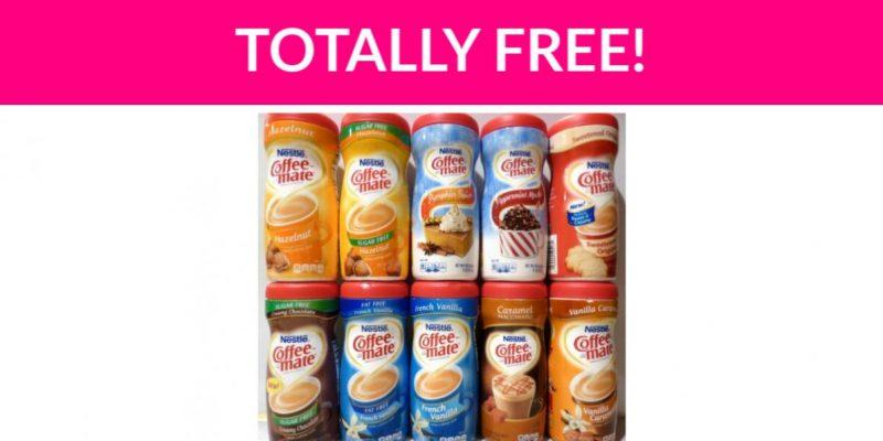 Free Coffee Creamer!