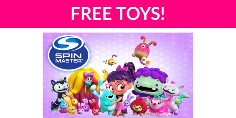 Free Spin Master Toy!