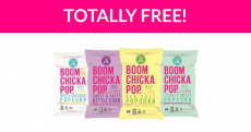 Free BOOMCHICKAPOP Popcorn!