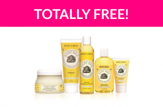 Free Burt's Bees Baby Products by Mail!