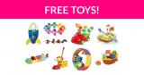 Free TOMY Toys!