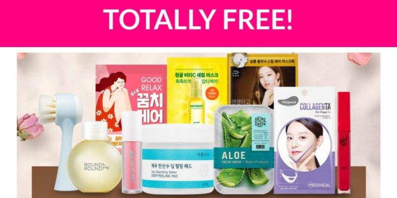 Free Olive Young K-Beauty Kit!