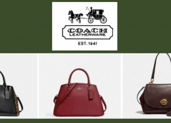 INSANE COACH SALE! 50% Off Everything + Extra 50% Off Clearance w/ Free Shipping