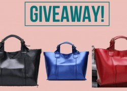 Enter to Win This Beautiful Leather Handbag