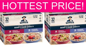 Quaker Instant Oatmeal PENNIES EA SHIPPED!