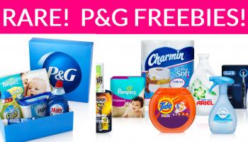 Rare!!!! Proctor & Gamble FREE Samples!