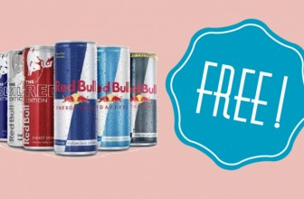 TOTALLY FREE 12 fl oz can of Red Bull!