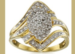 REAL Diamond Ring ONLY $26.87 SHIPPED!