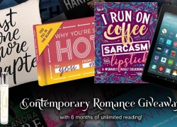 $250 Kindle, 6 months Kindle Unlimited and more prize pack!!