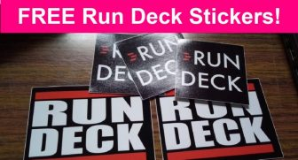 Totally FREE RUN Deck Stickers! EASY!