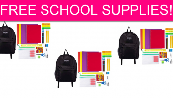 It's BACK! FREE Backpack Full of School Supplies!