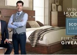 WIN $5,000 in Scott Living Furniture!