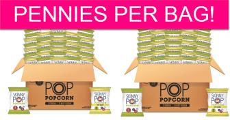 Skinny Pop Popcorn 40 Pack – PENNIES PER BAG!