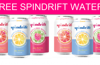 FREE Spindrift Water By Mail!