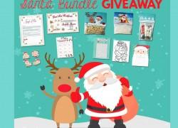 QUICK ENDING!  Santa Letter Bundle Giveaway
