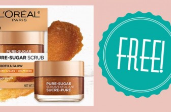 RUNNING OUT ! HURRY ! FREE L'Oreal Paris Scrub Sample!