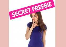 Get Your SECRET FREEBIE! HURRY! ONLY the 1st 100,000 Get it!