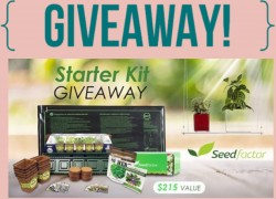 Enter to Win Garden Starter Kit Giveaway worth $215
