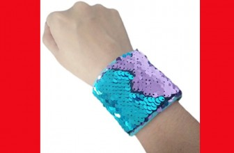 [ TWO ] Mermaid Bracelet W/ Reversible Sequins ONLY $1.87 Shipped!
