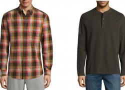 HOT!  $6.74 St. John's Men's Long Sleeve Shirts!