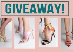 ENTER TO WIN  Azalea Wang Shoe Collection. [ VALUE:  $2,150. ]