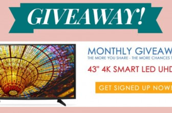 Enter to win a 43 inch Smart T.V!!!