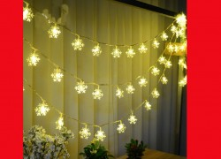 SUPER Cute Snowflake lights ONLY $1.80 !