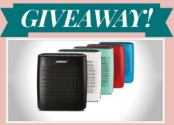 Enter to Win a Bose Speaker ! [ $154.99 Value! ]