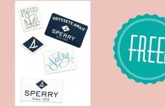 100% FREE Sperry Stickers! Check it out!