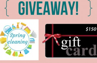 Win a Spring Cleaning Kit and $150 Gift Card !