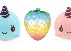 Strawberry Scented Squishy – Super Jumbo ONLY $3 BUCKS Shipped!