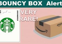 VERY RARE Gift Card Bouncy BOX! RUNNNNN!